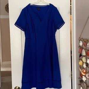 Royal Blue Banana Republic dress
